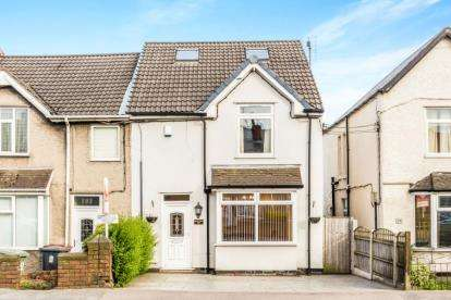 3 Bedrooms End Of Terrace House for sale in Williamthorpe Road, North Wingfield, Chesterfield, Derbyshire