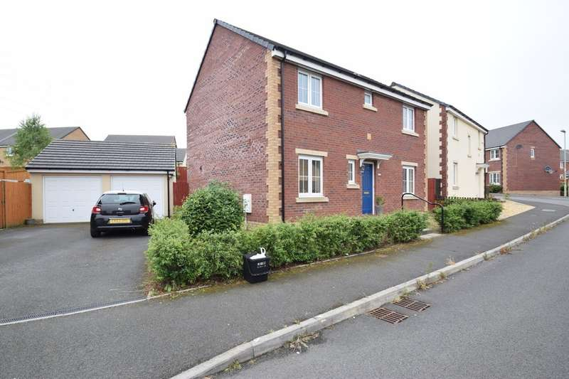 4 Bedrooms Detached House for sale in 25 Gallt Yr Ddrudwen, Broadlands, Bridgend County Borough, CF31 5FL