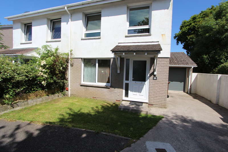 3 Bedrooms Semi Detached House for sale in Woodland Way , Torpoint