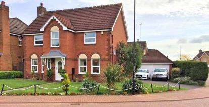 4 Bedrooms Detached House for sale in Braddock Close, Binley, Coventry, West Midlands