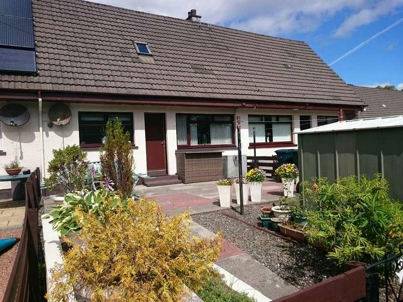 2 Bedrooms Terraced House for sale in 18 Upper Riochan, Inveraray, PA32 8UR