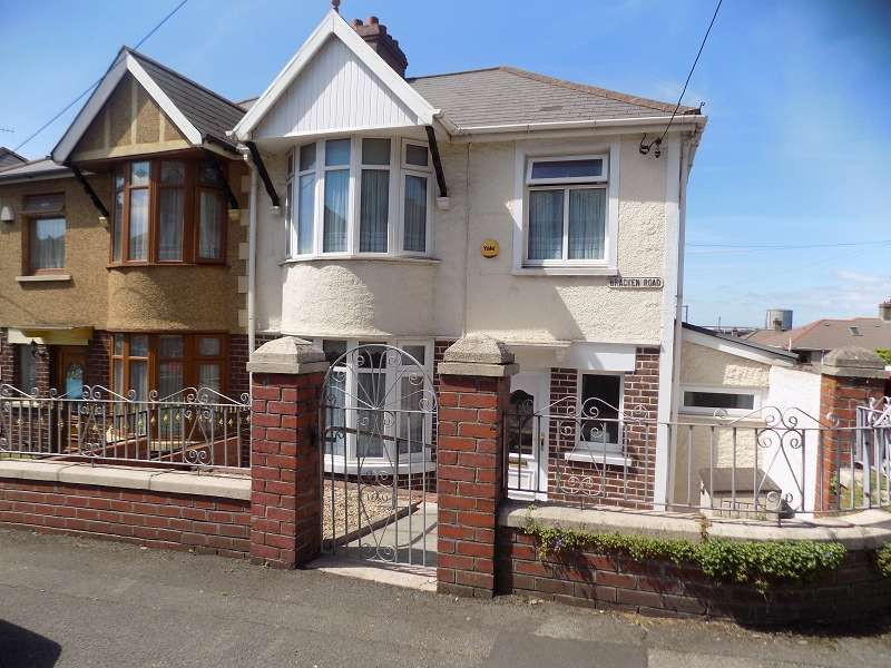 3 Bedrooms Semi Detached House for sale in Bracken Road, Margam, Port Talbot, Neath Port Talbot. SA13 2AY