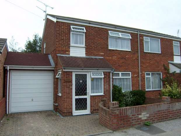3 Bedrooms Semi Detached House for sale in Oak Road, SITTINGBOURNE, Kent