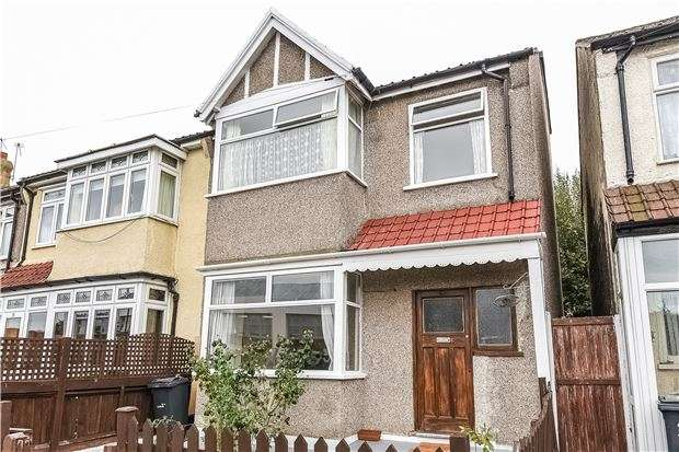 4 Bedrooms End Of Terrace House for sale in Granton Road, Streatham Vale, LONDON, SW16