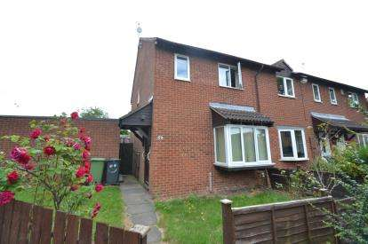 3 Bedrooms End Of Terrace House for sale in Senwick Drive, Wellingborough, Northamptonshire