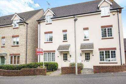 3 Bedrooms Semi Detached House for sale in The Rushes, Tuffley, Gloucester, Gloucestershire