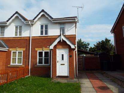 2 Bedrooms Semi Detached House for sale in Dalton Close, Blacon, Chester, Cheshire, CH1