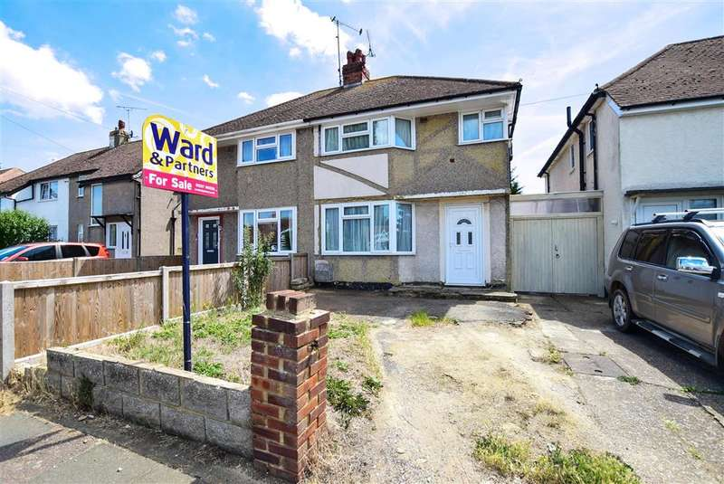 3 Bedrooms Semi Detached House for sale in Poplar Drive, Herne Bay, Kent