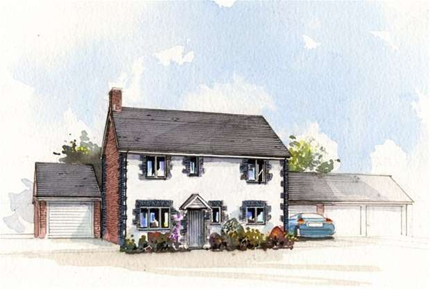 3 Bedrooms Detached House for sale in High Street, Dilton Marsh, Westbury