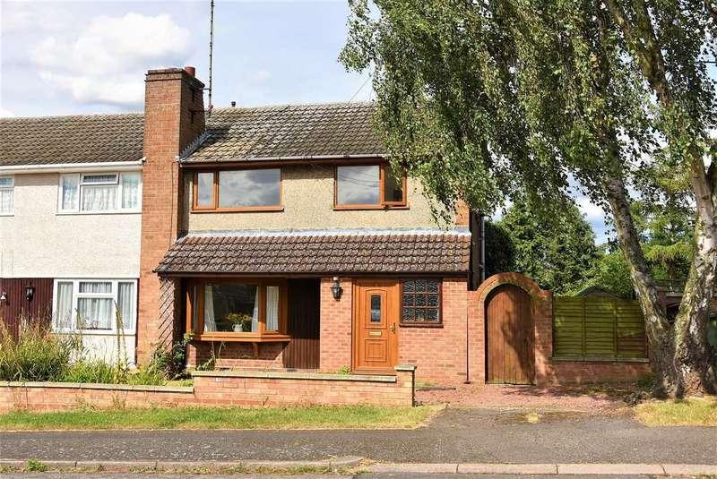 3 Bedrooms Semi Detached House for sale in Cedar Way, Wellingborough, NN8 4SL