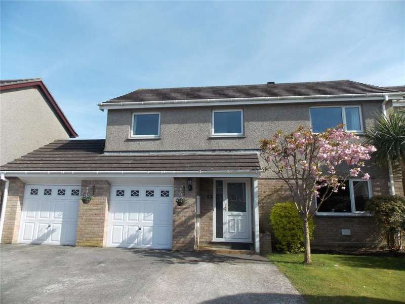 4 Bedrooms Detached House for sale in Moorfield Road, Pool, Redruth