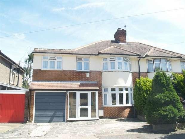 4 Bedrooms Semi Detached House for sale in Elmbridge Avenue, Surbiton
