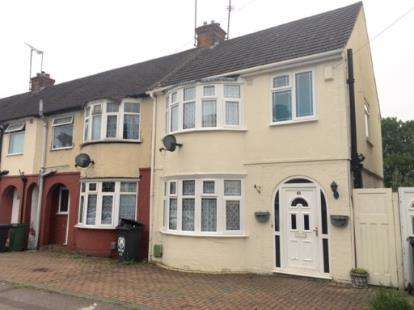 4 Bedrooms End Of Terrace House for sale in Chester Avenue, Luton, Bedfordshire