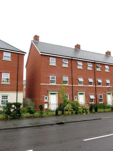 4 Bedrooms End Of Terrace House for sale in Spring Gardens, Shrewsbury, Shropshire, SY1