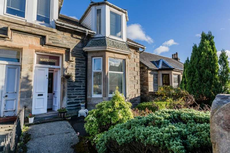 3 Bedrooms Semi Detached House for sale in Victoria Road, Dunoon, PA23 7AE