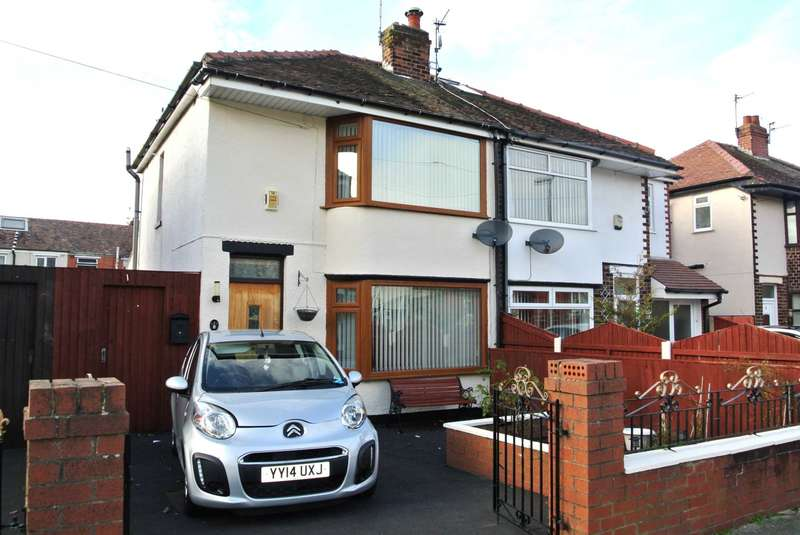 2 Bedrooms Semi Detached House for sale in Winton Avenue, Blackpool, FY4 4HT