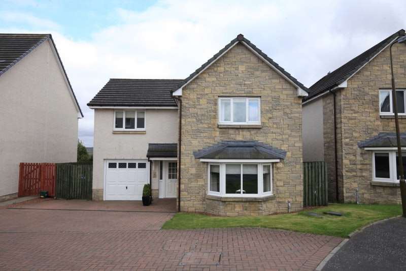4 Bedrooms Detached House for sale in Curling Pond Lane, Bathgate, West Lothian, EH47