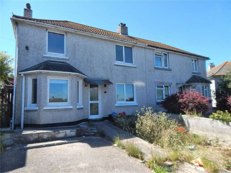 3 Bedrooms Semi Detached House for sale in Treveneth Crescent, Newlyn, Penzance