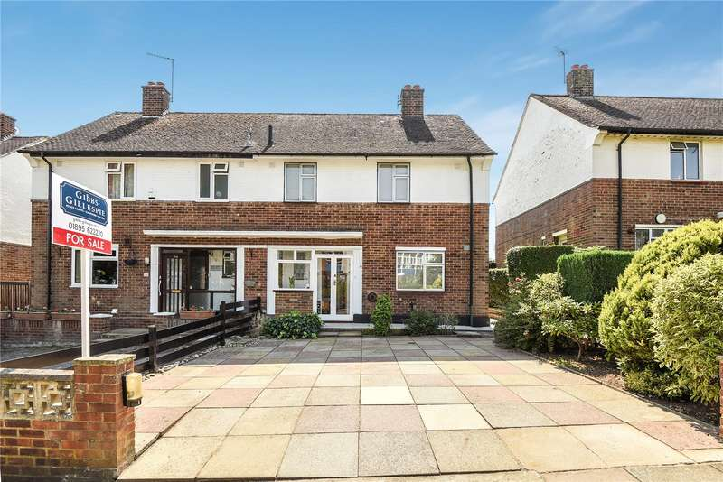 3 Bedrooms Semi Detached House for sale in Wiltshire Lane, Pinner, Middlesex, HA5
