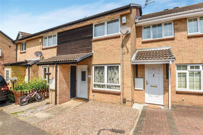 2 Bedrooms Terraced House for sale in Alba Close, Hayes, Middlesex, UB4