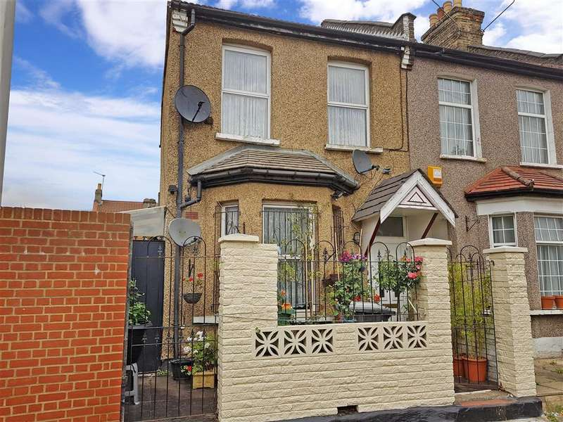 3 Bedrooms End Of Terrace House for sale in Nelson Street, London, East Ham