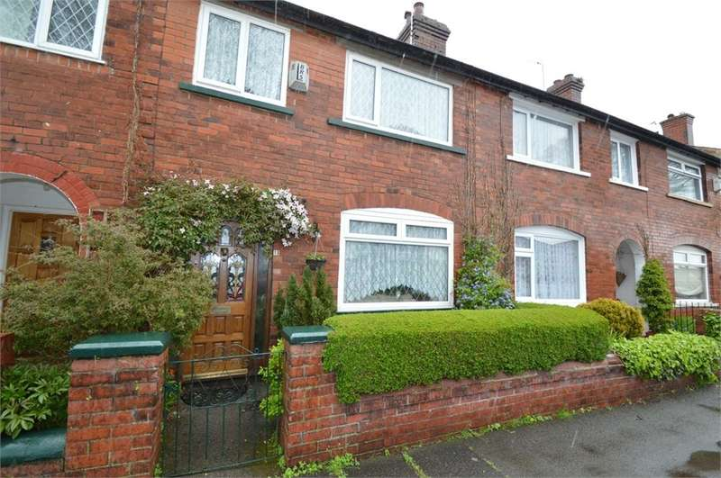 3 Bedrooms Terraced House for sale in Merton Road, Prestwich, Manchester, M25