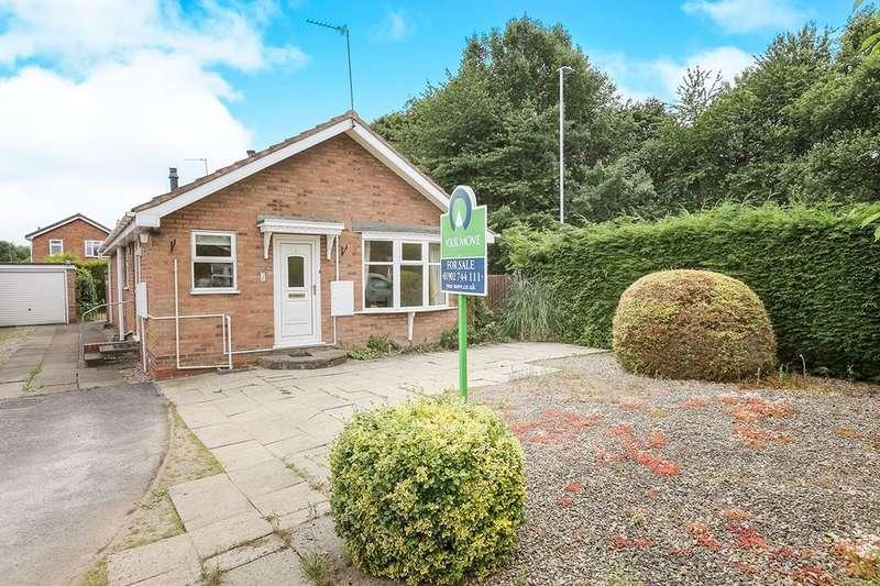 2 Bedrooms Detached Bungalow for sale in Anson Close, Perton, Wolverhampton, WV6