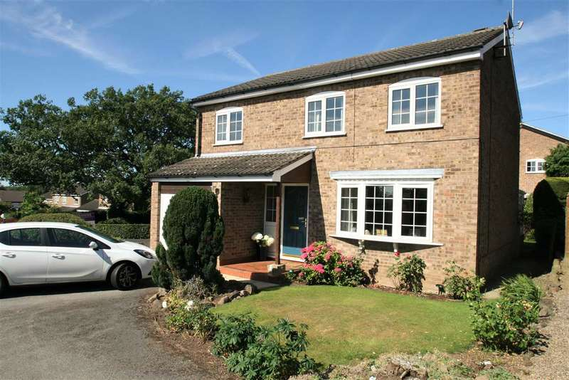 4 Bedrooms Detached House for sale in 20 Marvell Rise, on the edge of the Nidderdale countryside, Harrogate HG1 3LT