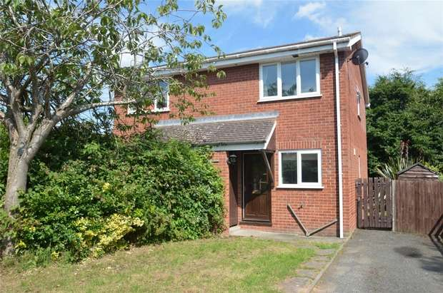 2 Bedrooms Semi Detached House for sale in 35 Tollgate Road, Ludlow, Shropshire