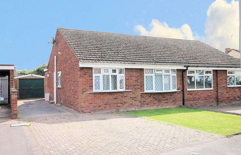 2 Bedrooms Semi Detached Bungalow for sale in Birch Grove, Birchmoor, Nr Tamworth, B78 1AP