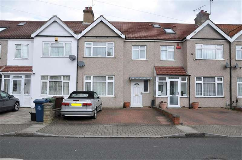 3 Bedrooms Terraced House for sale in Loretto Gardens, Kenton, Harrow, HA3 9LZ