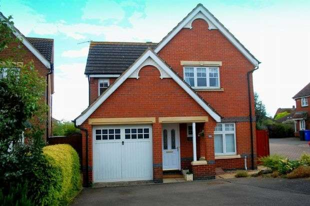 3 Bedrooms Detached House for sale in Cory Gardens, Harpole, Northampton NN7 4ES