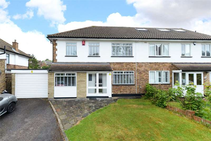 4 Bedrooms Semi Detached House for sale in Orleans Road, London