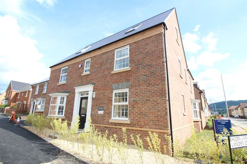 5 Bedrooms Detached House for sale in Mountain View , Llanfoist, Abergavenny, NP7
