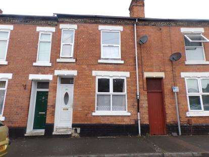 2 Bedrooms Terraced House for sale in Cummings Street, Derby, Derbyshire