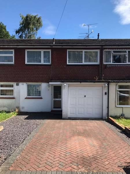 3 Bedrooms Terraced House for sale in Evergreen Road, Frimley, Surrey, GU16
