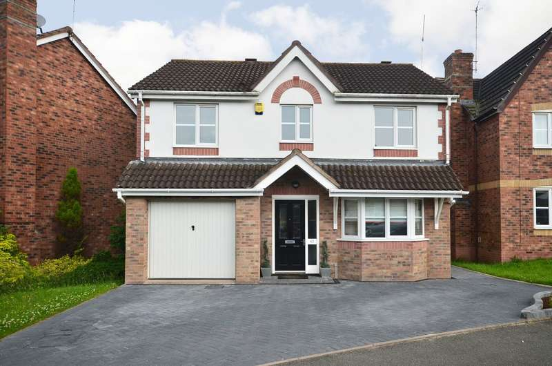 4 Bedrooms Detached House for sale in ****NEW**** Durham Drive, Lightwood, ST3 4TG