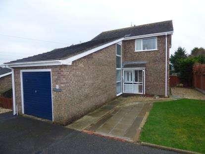 4 Bedrooms Detached House for sale in Glan Llyn, Ffordd Caergybi, Llanfairpwllgwyngyll, Sir Ynys Mon, LL61