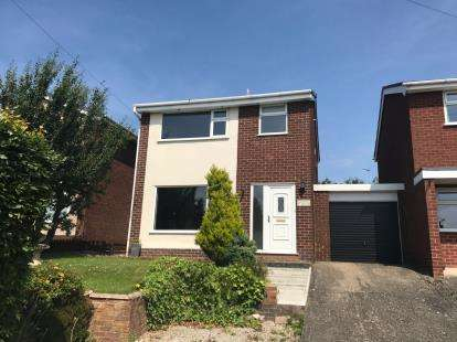 3 Bedrooms Detached House for sale in Hill View, Bryn-Y-Baal, Mold, Flintshire, CH7
