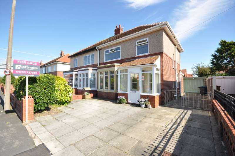 3 Bedrooms Semi Detached House for sale in Rodney Avenue, St Annes, Lytham St Annes, Lancashire, FY8 2SA