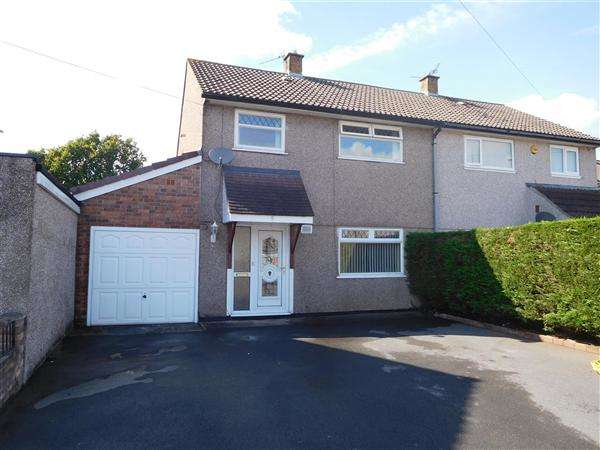 3 Bedrooms Semi Detached House for sale in Birbeck Road, Caldicot