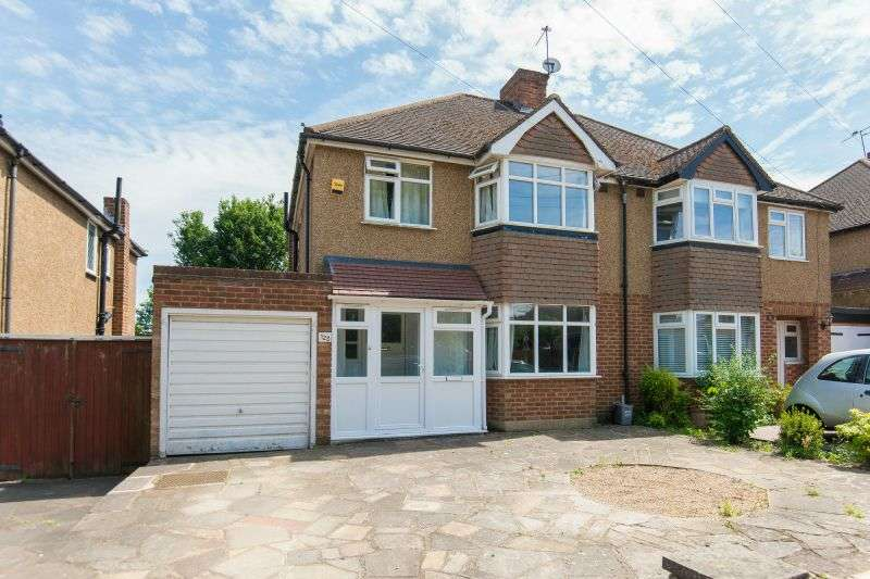3 Bedrooms Semi Detached House for sale in Winton Drive, Croxley Green, London, WD3