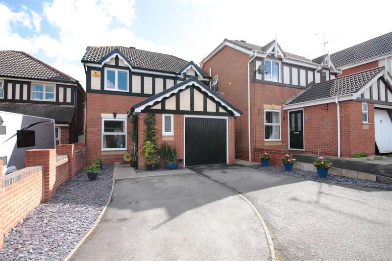 3 Bedrooms Detached House for sale in Eley Close, Shipley View