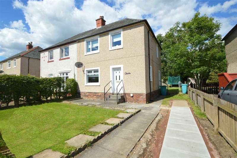 3 Bedrooms Semi Detached House for sale in Grampian Road, Wishaw