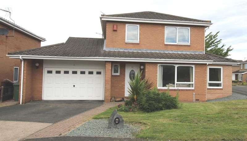 4 Bedrooms Detached House for sale in Underwood Grove, Northburn Grange, Cramlington