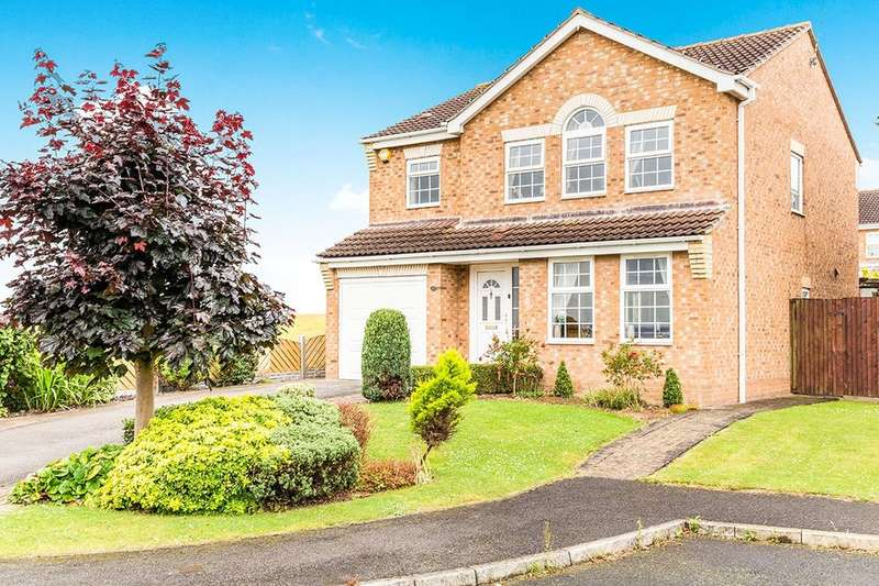 4 Bedrooms Detached House for sale in Blue Lodge Close, Inkersall, Chesterfield, S43
