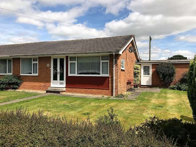 2 Bedrooms Semi Detached Bungalow for sale in Wells Avenue, Feniton