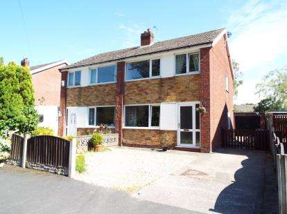 3 Bedrooms Semi Detached House for sale in Western Drive, Leyland, PR25