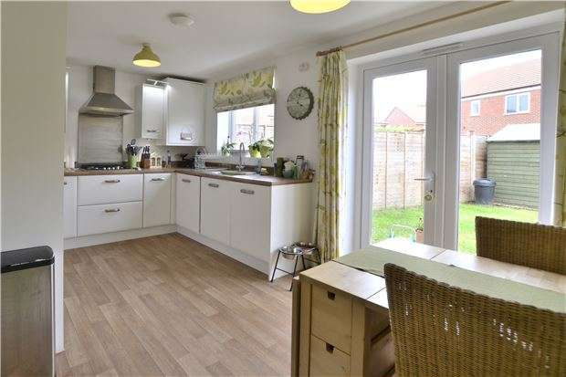 3 Bedrooms End Of Terrace House for sale in Martyn Close, Brockworth, Gloucester, GL3 4GN