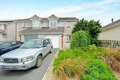 3 Bedrooms Semi Detached House for sale in Fraddon, St. Columb, Cornwall